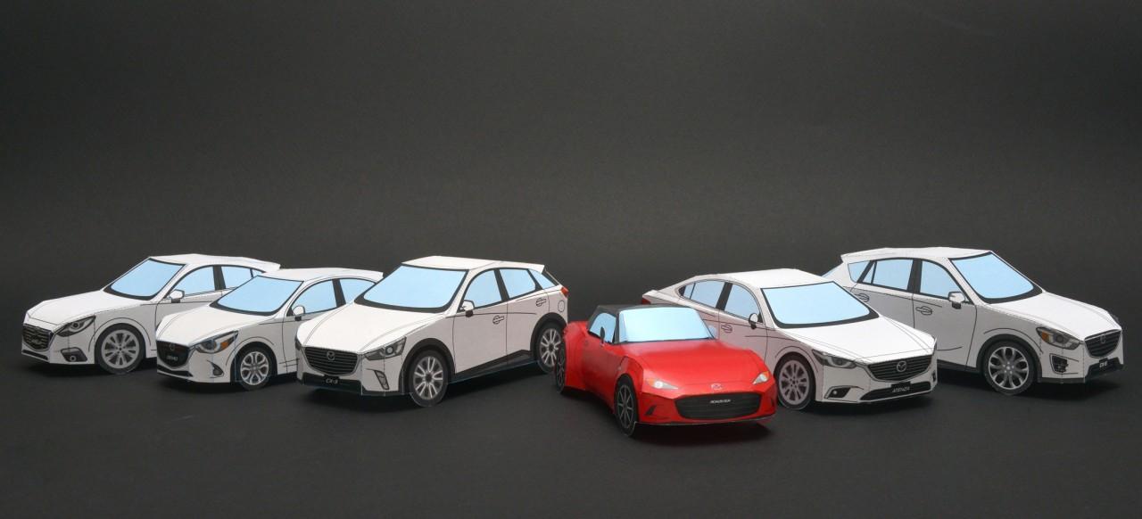ロードスターが自宅で作れる!?~新世代商品6車種の○○が勢ぞろい!