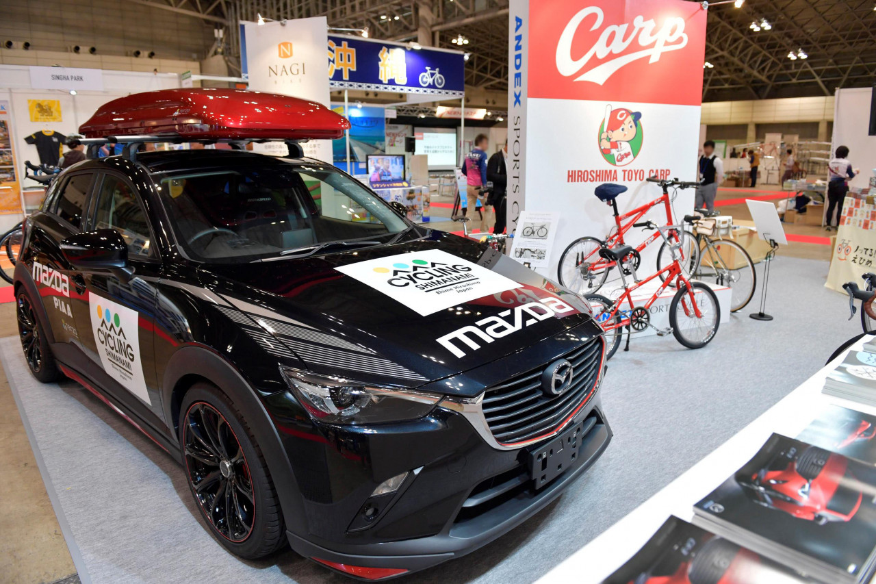 cx 5 自転車 積載