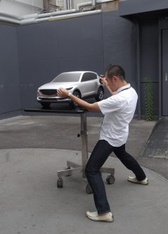 新型CX-5デザイン開発シーン