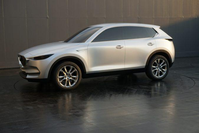 新型CX-5デザインフルスケールモデル