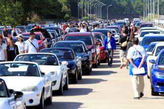 三次自動車試験場開業50周年イベント