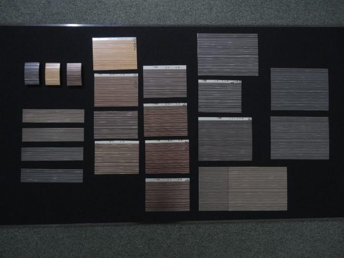 新型CX-5デコレーションパネル加飾フィルム試作品