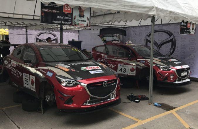 Mazda2 タイランドスーパーシリーズ