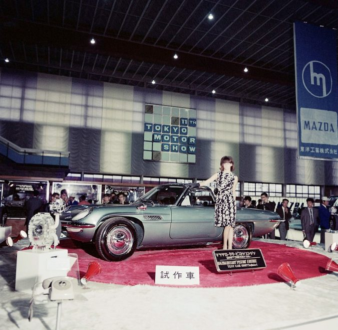 1964年第11回東京モーターショー、コスモスポーツ試作車