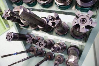 切削工具の数々