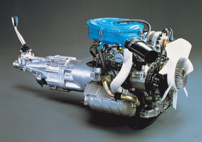 12A型ロータリーエンジン