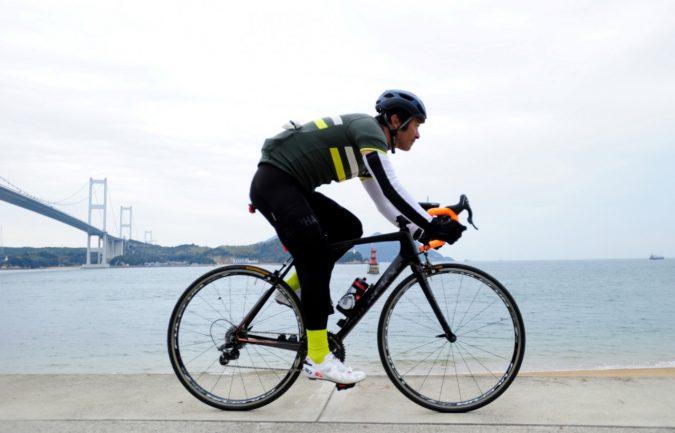 プロサイクリスト三船雅彦氏、ライドポジション