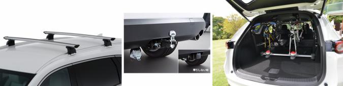 マツダ CX-8 展示車の用品装着イメージ