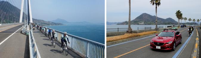 瀬戸内しまなみ海道 サイクリスト