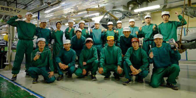 シーラー職場のメンバー集合