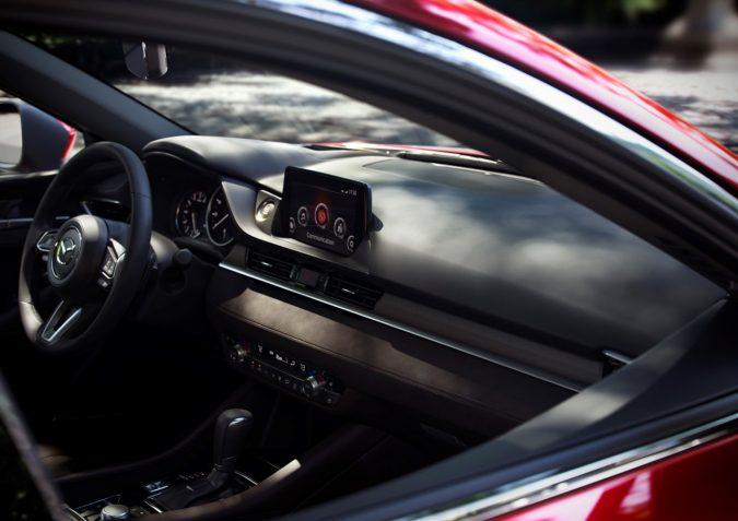 「Mazda6」セダン インテリア(北米仕様)