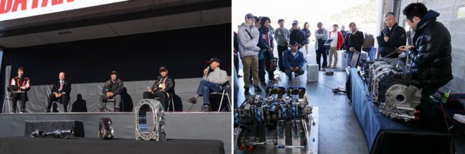 MAZDA FAN FESTA 2017 in OKAYAMA マツダロータリー50周年記念トークショー