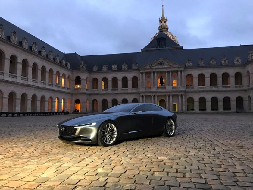 「マツダ VISION COUPE」がフランスにて「最も美しいコンセプトカー」に選出されました!
