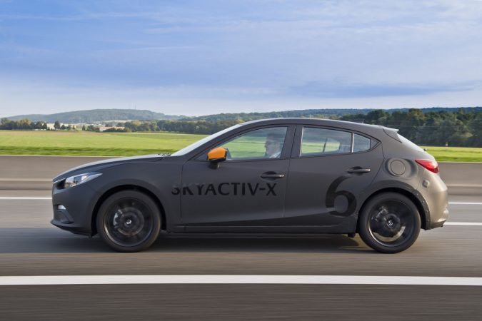 Mazda Global Tech Forum 2017 試作車