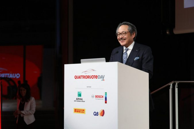 Q Global Tech Award 藤原 清志(ふじわら きよし)専務執行役員