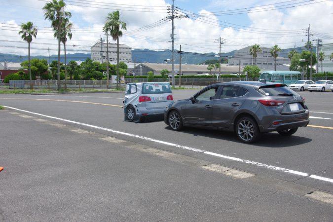 マツダファン東北ミーティング2018 in SUGO 先進安全装備同乗試乗