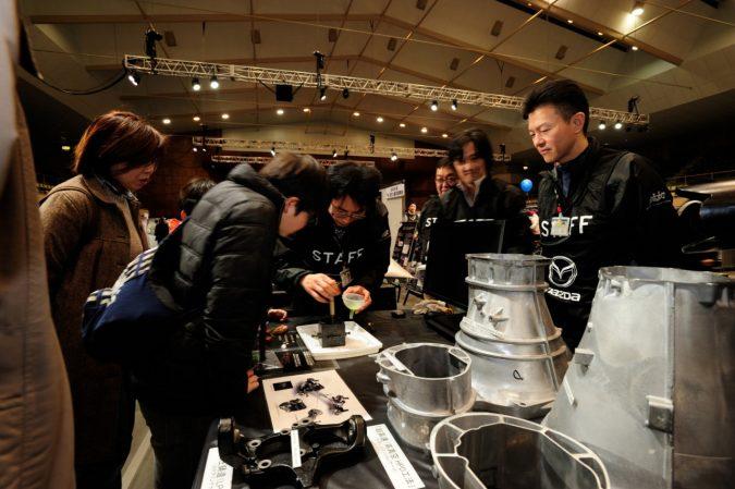 マツダファン東北ミーティング 2018 in SUGO 『モノ造り展示』