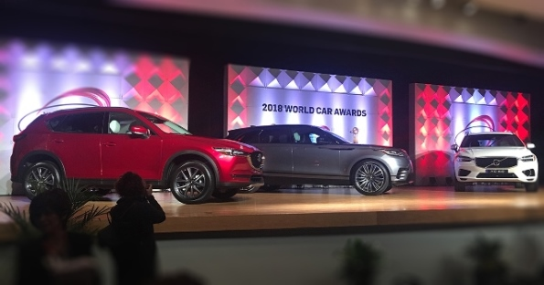 2018 World Car Of The Year Mazda CX-8