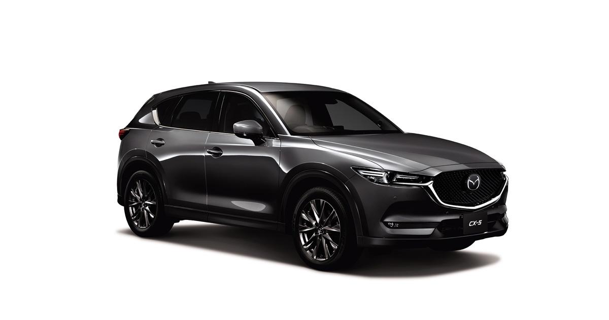 「マツダCX-5」を商品改良、さらに上質な内装の特別仕様車を設定