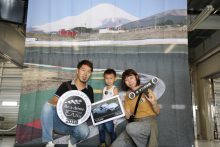 Be a driver. Experience at FUJI SPEEDWAY