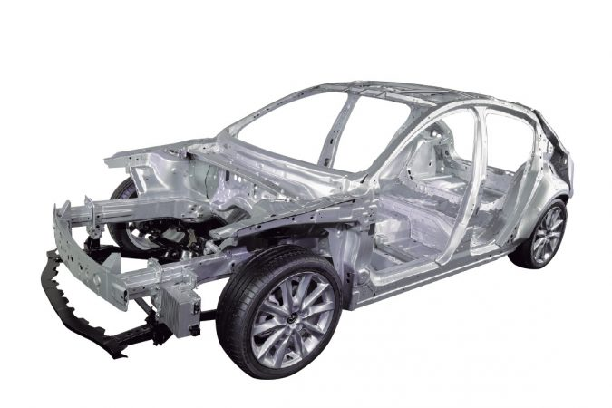 MAZDA SKYACTIV-VEHICLE ARCHITECTURE