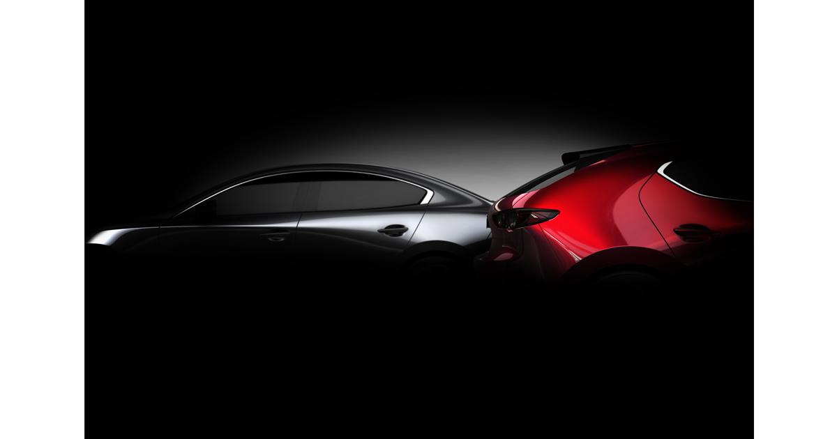 ロサンゼルス自動車ショーにて、新型「Mazda3」を世界初公開!