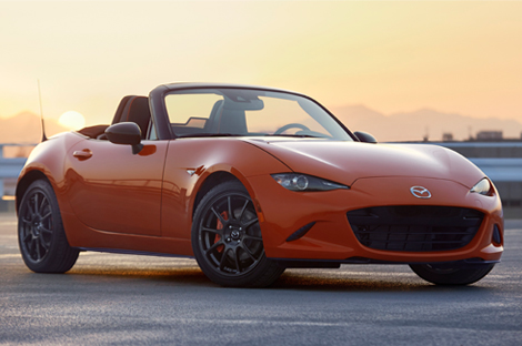 ロードスターの30周年記念車を世界初公開 ~専用色「レーシングオレンジ」を採用、世界3,000台限定で販売~