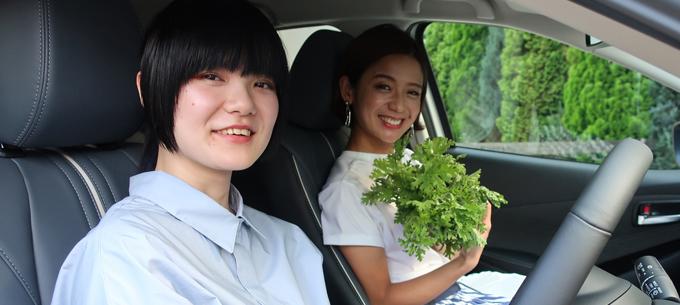 日常を豊かにする MAZDA2 吉田と秋貞さん
