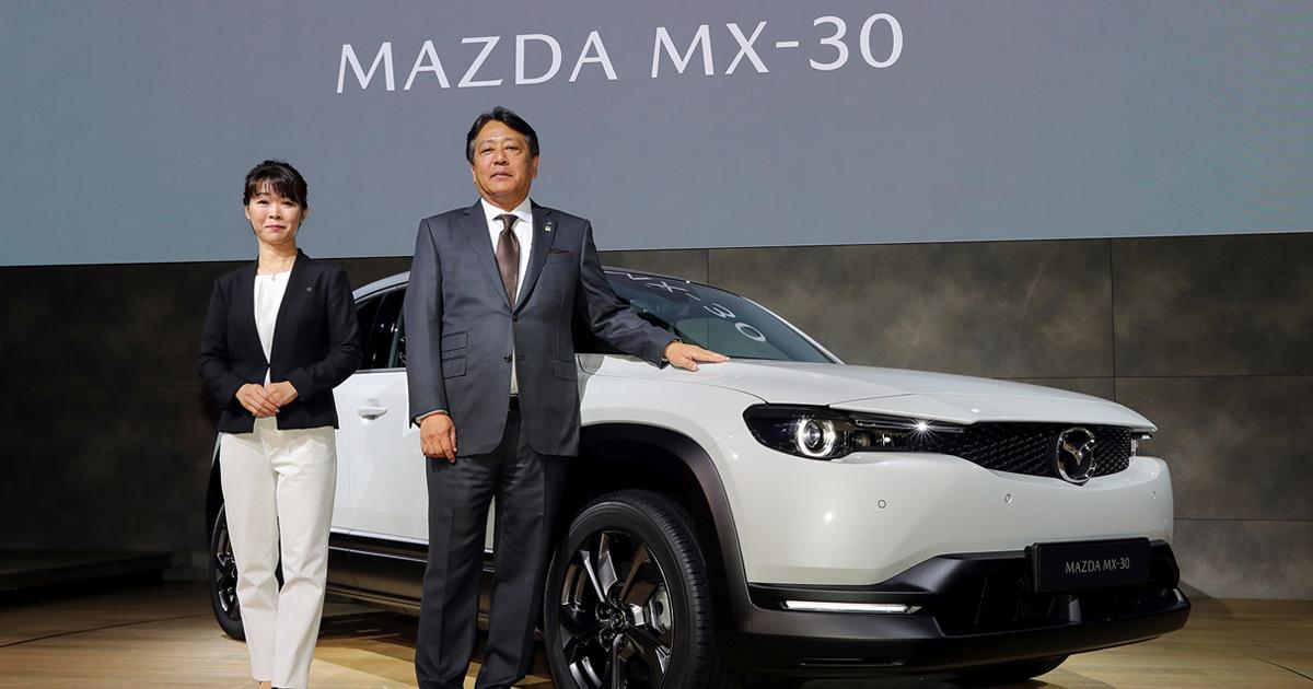 「MX-30」世界初公開、東京モーターショー2019マツダプレスカンファレンスを速報します!