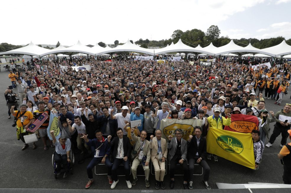 ロードスター30周年 三次試験場ファンイベント