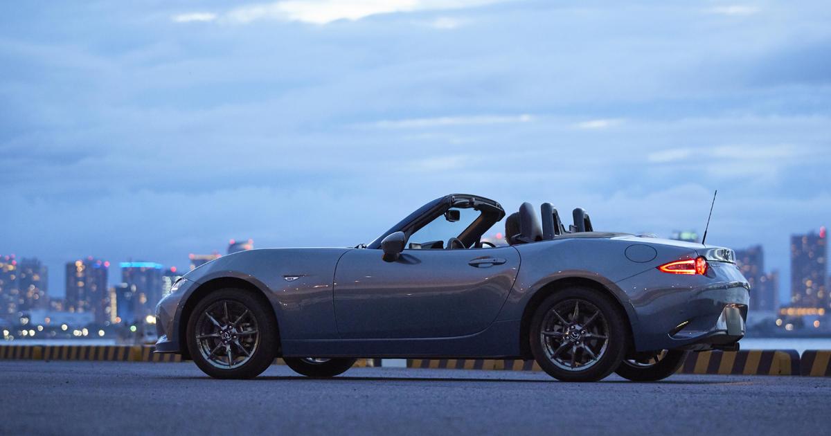 「マツダ ロードスター」を商品改良 、内外装色の追加および特別仕様車を設定しました!