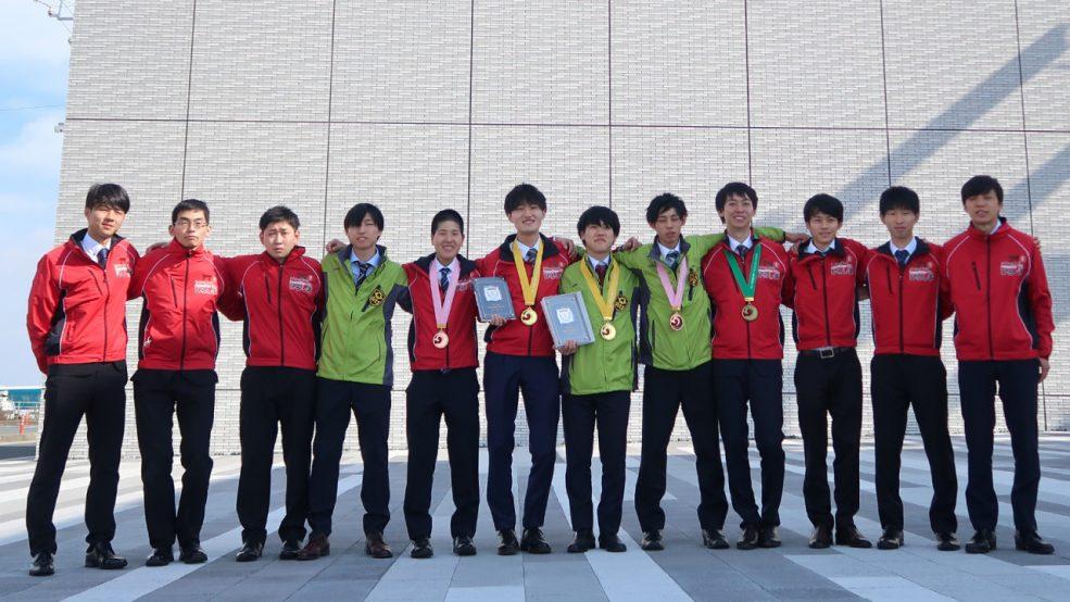 マツダ「第57回技能五輪全国大会」の2種目で金賞受賞