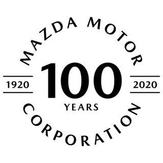 マツダ100周年記念ロゴマーク