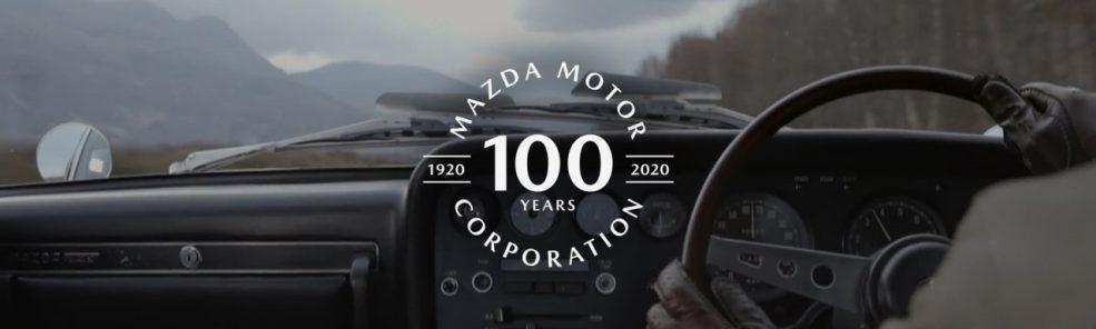 マツダ創立100周年
