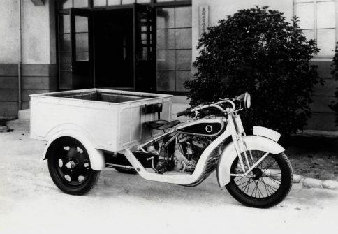 1930年当時の試作三輪トラック