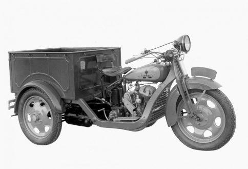 東洋工業第1号トラックのDA型三輪トラック