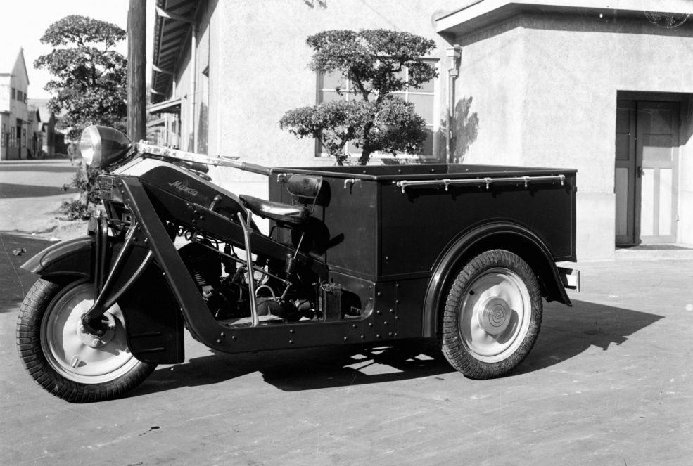 KC36型三輪トラック(1936年)