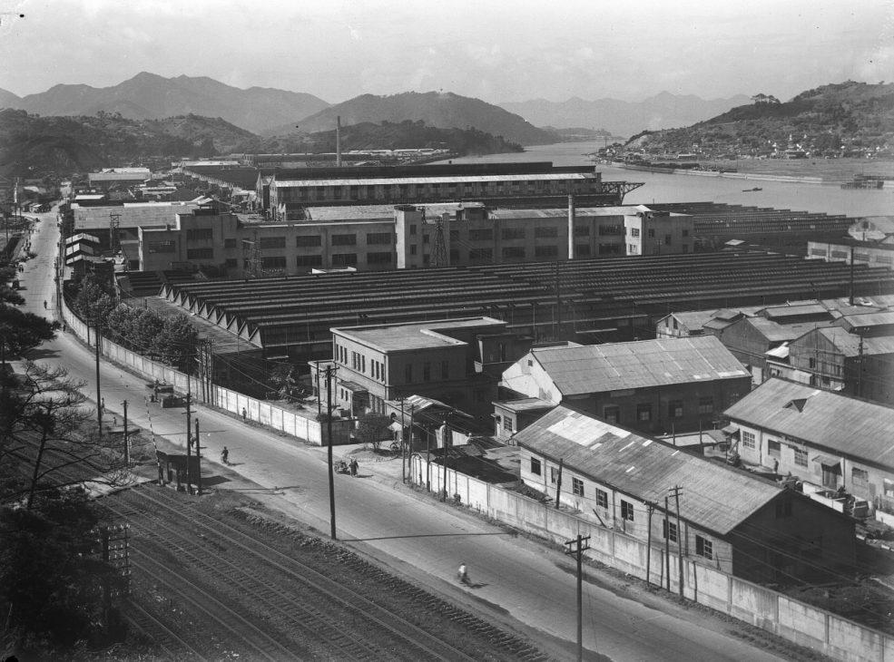 1945年当時の本社